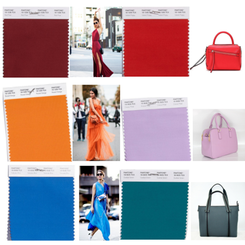 Fashion colors for 2018 Winter, which one is your favorite ?