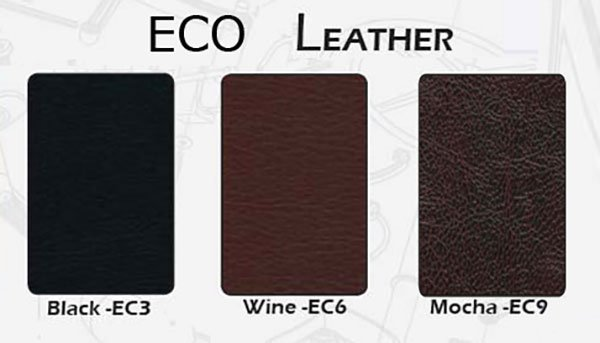 What is the Eco-leather?