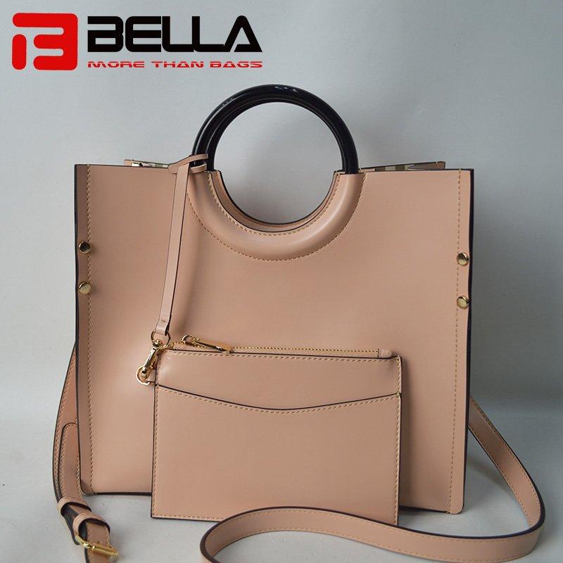 Fashional PU Handbag with Detacble Small Bag  201711-3C