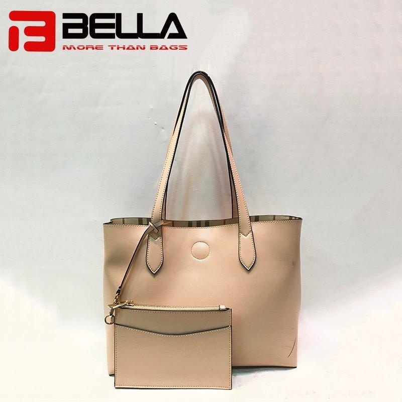 New Design PU Leather Handbag with Detacble Small Bag 201711-3A