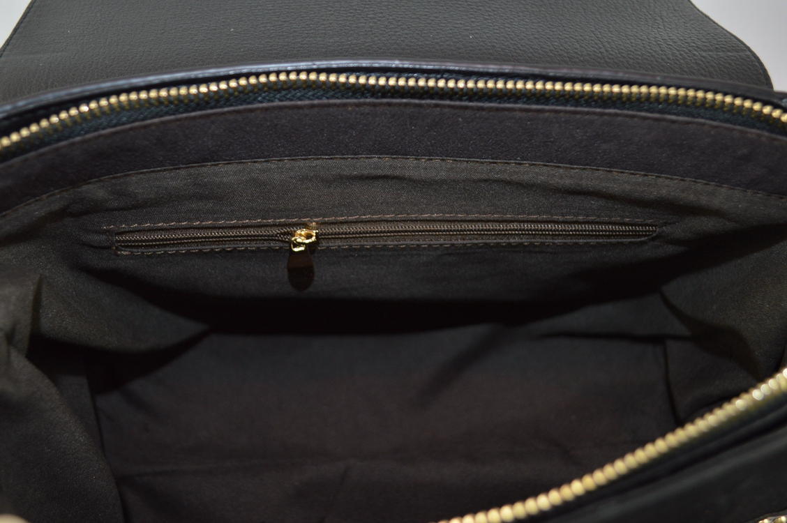 Special design Leather shoulder bag with butterfly locker