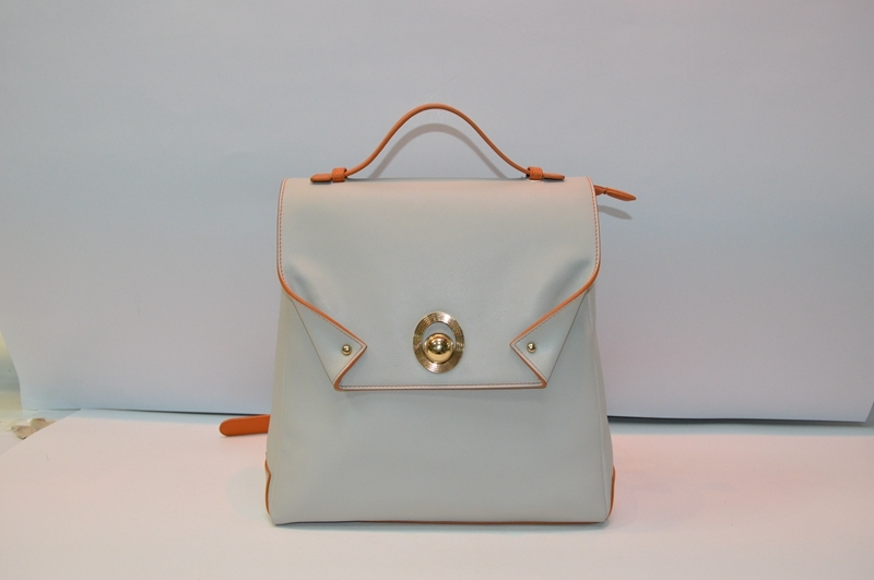 Apricot PU backpack 8817