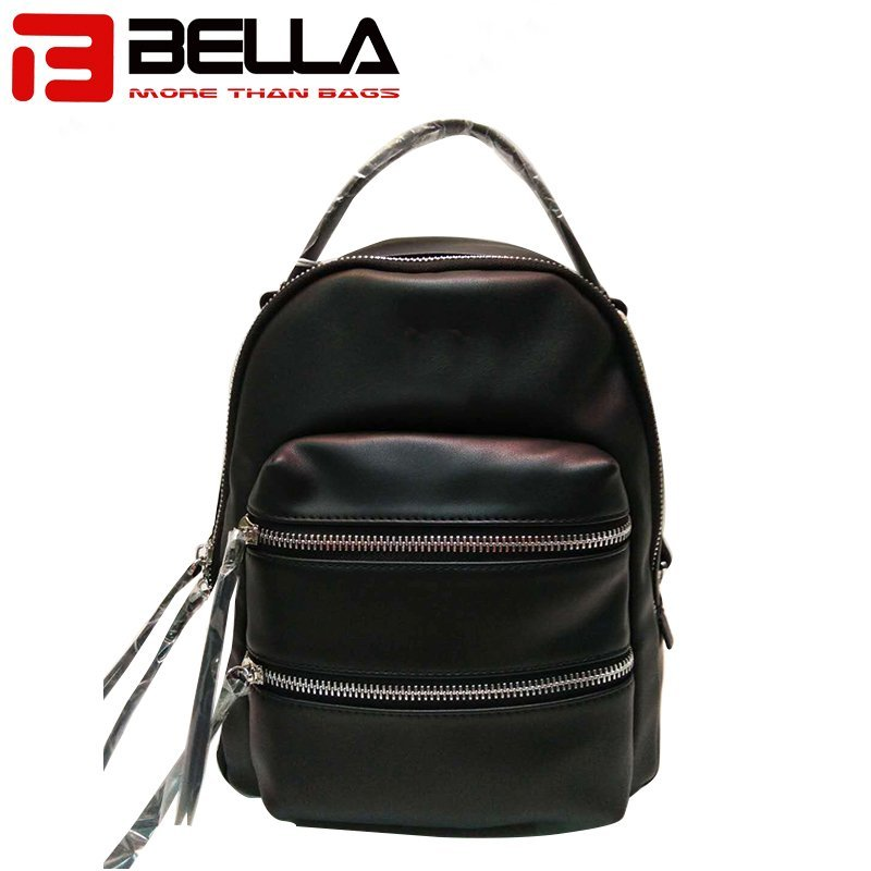 hotsale pu leather backpack OEM ODM guangzhou factory for men and women1706037