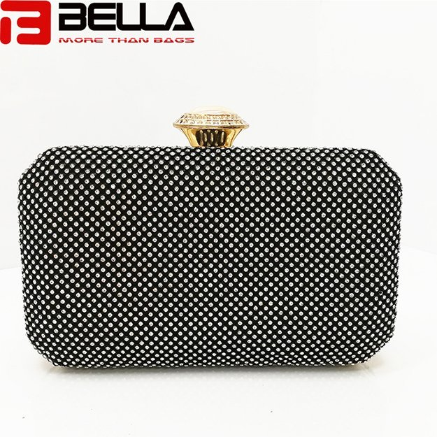fashion metal clutch bag ladies beading bag for Wedding party evening bag C0701