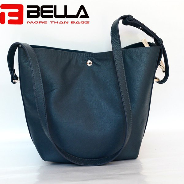 real leather top grain cow leather ladies shoulder bag BE3801