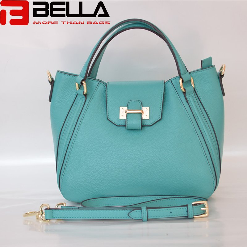top grain leather handbag guangzhou china manufacturer BE3840