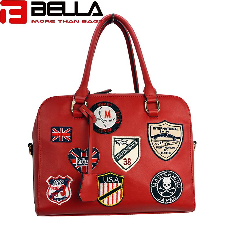 fashion handbag fabric chapter handbag china factory BE1514